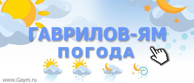 Погода Гаврилов-Ям